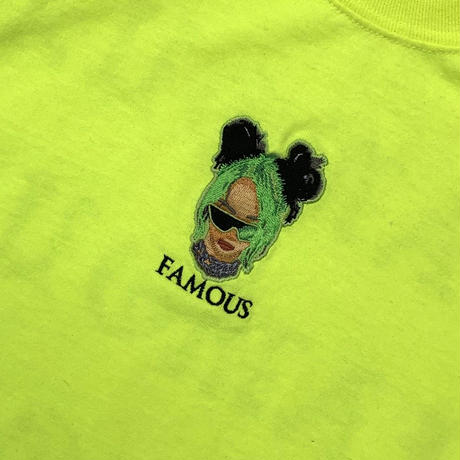 BE L/S TEE SAFETY GREEN