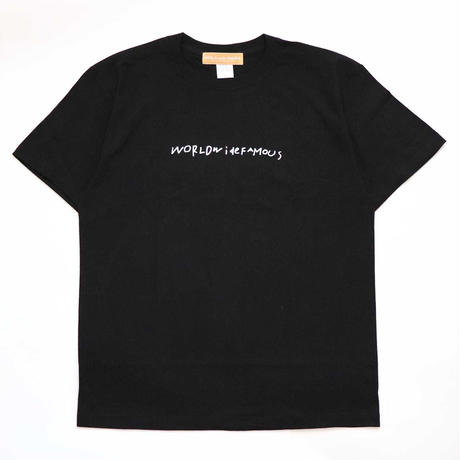YGA S/S TEE BLACK