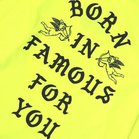 KJTS L/S TEE SAFETY YELLOW