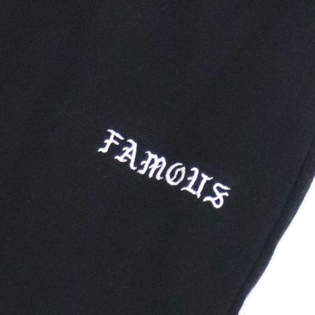 FAMOUS PNT BLACK (KIDS)