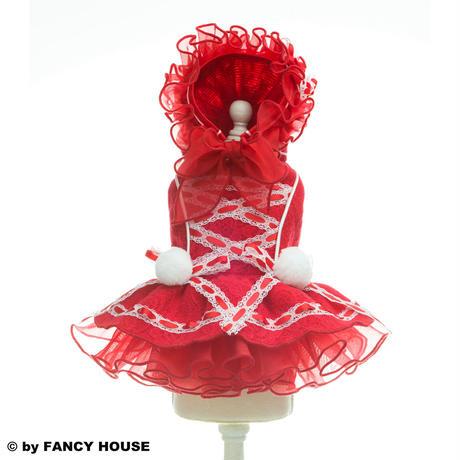 プリンセスドレス/ボンネットキャップ付き