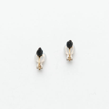 VIBURNUM TINUS CLIP EARRINGS / E_VT1_S
