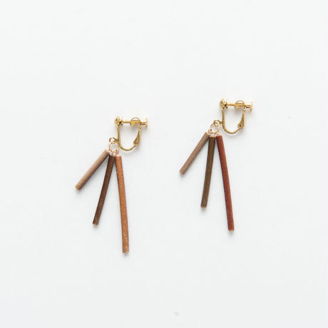 EUCALYPTUS NEJIBANE EARRINGS / E _EPT3_F
