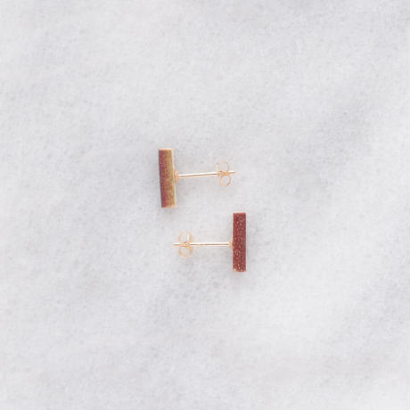 [18K GOLD COLLECTION] BOTANICAL STUDS_EPTM1_S_18K