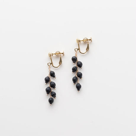 VIBURNUM TINUS NEJIBANE EARRINGS / E_VT6_T