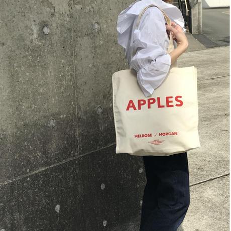 apples canvas bag