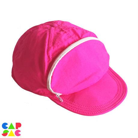CAP-SAC キャップ (NEON PINK)