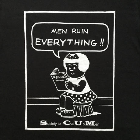 CruiseOrBeCruised (SCUM Nancy) Tシャツ/ ブラック