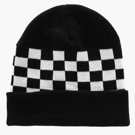 ‹‹ ボードチェック柄 ››  ニット帽