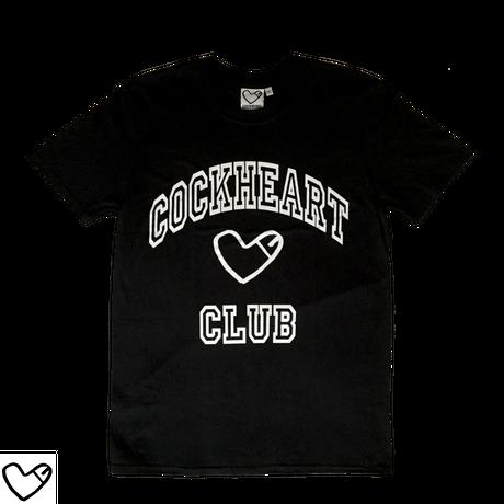 COCKHEART CLUB  Tシャツ/ブラック