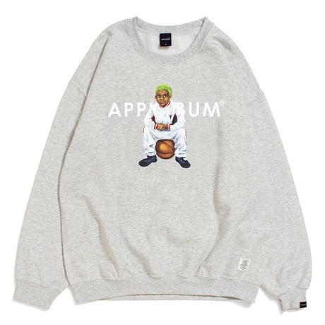 "【APPLEBUM】""WORM BOY (Home)"" CREW SWEAT"