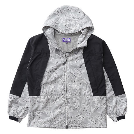 THE NORTH FACE PURPLE LABEL Paisley Print Mountain Wind Parka