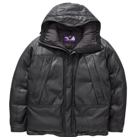 THE NORTH FACE PURPLE LABEL  Mountain Down Leather Jacket