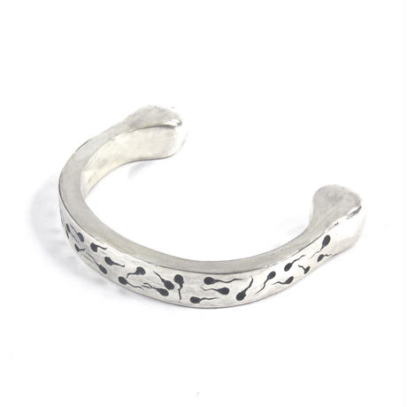 sperm bangle silver typeB