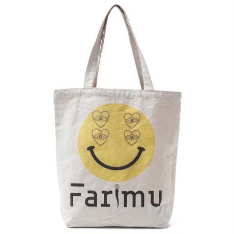 love&smile tote bag