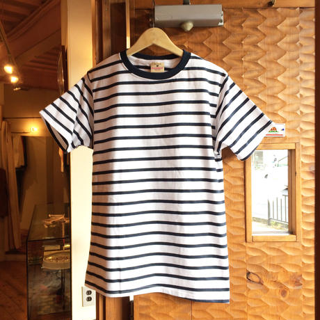GOOD WEAR S/S BORDER TEE