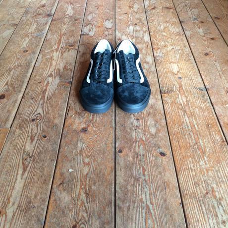 VANS OLD SCHOOL PIG SUEDE BLACK SOLE