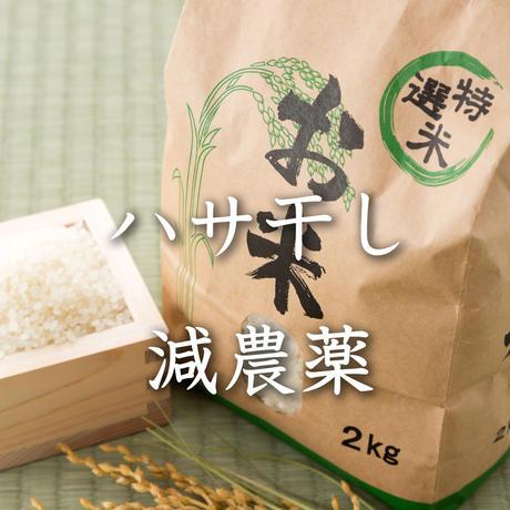 <定期便>【ハサ干し・減農薬】飛騨産コシヒカリ(白米)【5kg】