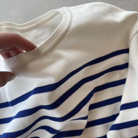 ■ 5月下旬入荷分  パネルボーダーバスクシャツ