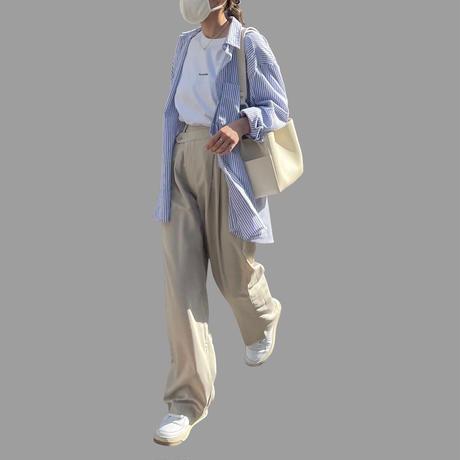 ■5月下旬入荷分 BIG PULLOVER ストライプシャツ