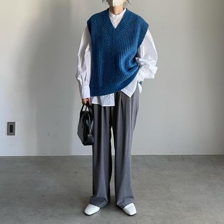 11月初旬入荷分   WOOL × MOHAIR KNIT VEST
