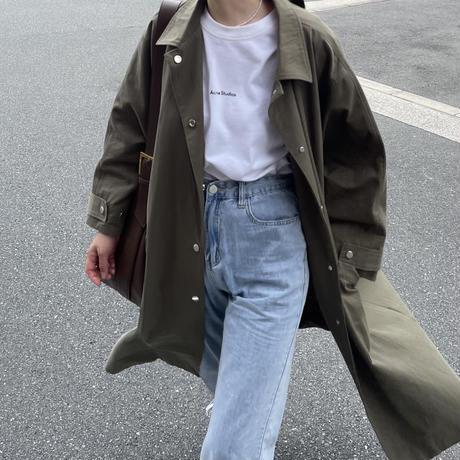 11月初旬入荷分   ステンカラー コート long