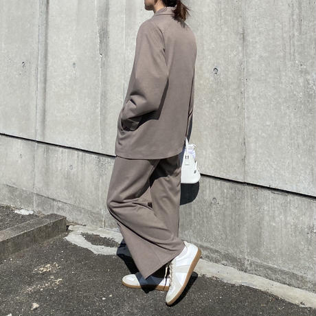 woolタッチ ストレッチセットアップスーツ(f_outer-275500-ⅬB/MB,f_bottoms-272502-LB/MB)