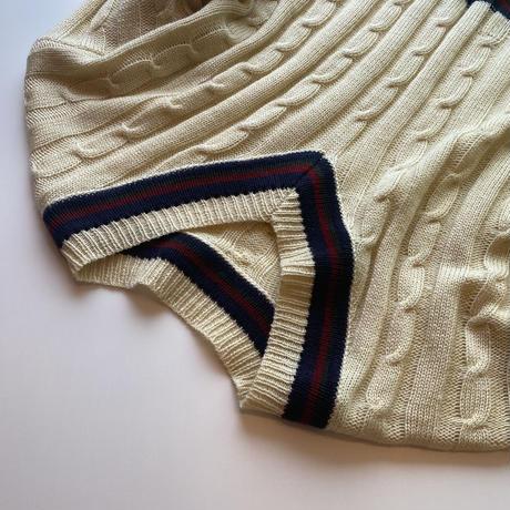 wool チルデンニット(c_tops-00683)