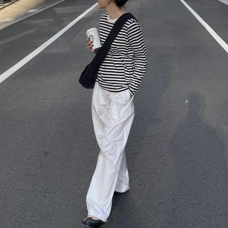 9月下旬入荷分   BORDER LONG SLEEVE T-SHIRTS