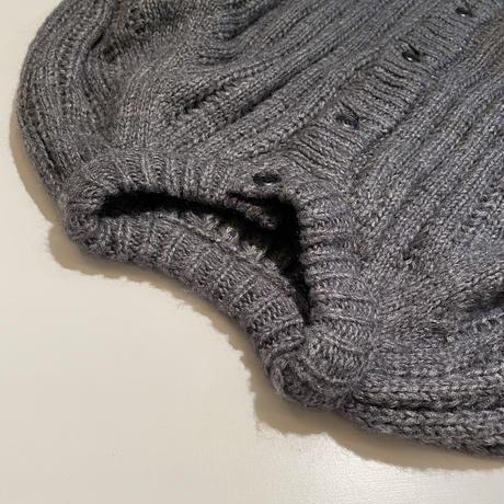 1月中旬入荷分  woolブレンド ボリュームニットカーディガン(c_tops-00674)