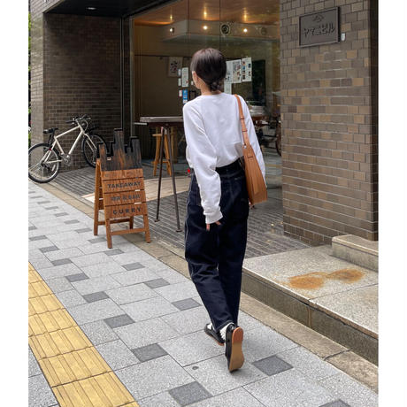 10月初旬入荷分   TAPERED STRETCH DENIM JEANS