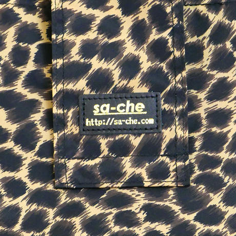 SA-CHE レオパードナイロン エコバッグ  CUORE  A5308