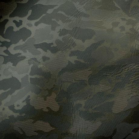 SA-CHE 広がるサコッシュ カモフラージュレザー A5467 / ブラック