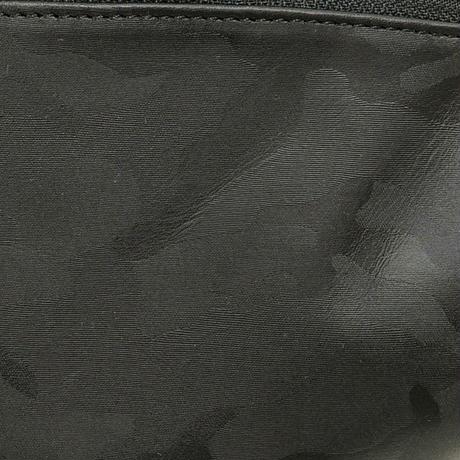 SA-CHE カモフラレザー X-Pac ウエストバッグ BRISE A5442 / ブラック×レッド