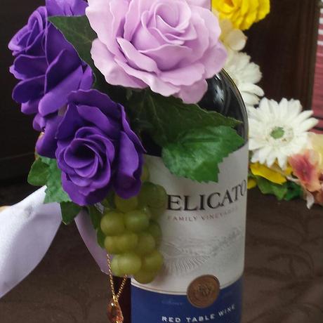 wine bottle arrange