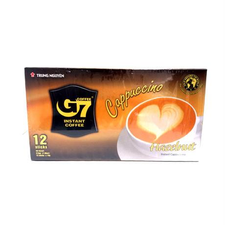 G7CAPPUCCINO/HAZELNUT (12stic)