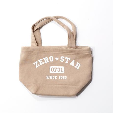 F-ZS014 ZEROSTARカレッジプリントランチバッグ /    ベージュ