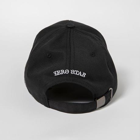 F-ZS007 / ZERO STAR キャップ / BLACK
