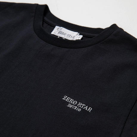 F-ZS001 / ZERO STAR ロゴTシャツ / BLACK