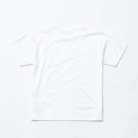 F-TM004  Timothy  ポケット付きメッセージプリントオーバーサイズTシャツ