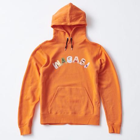 F-WA002  WAGASI プルオーバーパーカー /  オレンジ