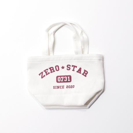 F-ZS014 ZEROSTARカレッジプリントランチバッグ /    オフホワイト
