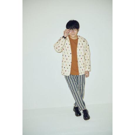 F-WA003  WAGASI 笑美玉ジャケットカーディガン /  クリーム