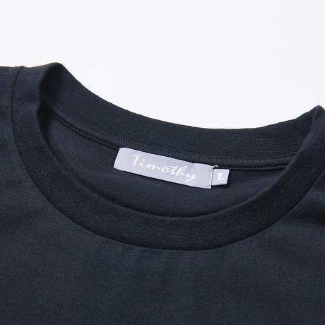 F-TM003  Timothy ロゴ刺繍オーバーサイズTシャツ