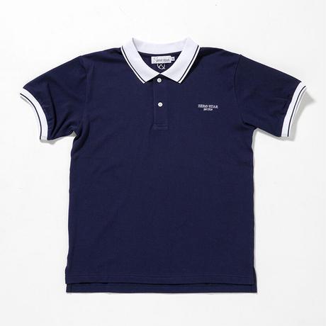 F-ZS002  /  ZERO STAR ポロシャツ /  NAVY