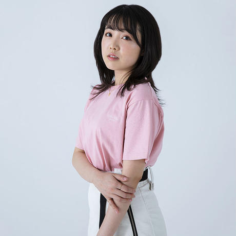 F-ZS001 / ZERO STAR ロゴTシャツ / SAKURA PINK