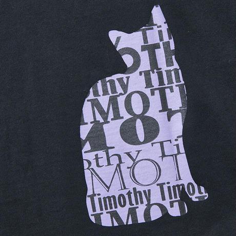 F-TM005  Timothy ポケット付きキャットプリントTシャツ