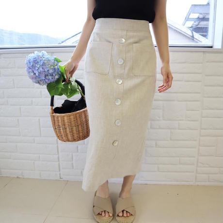 linen pp skirt