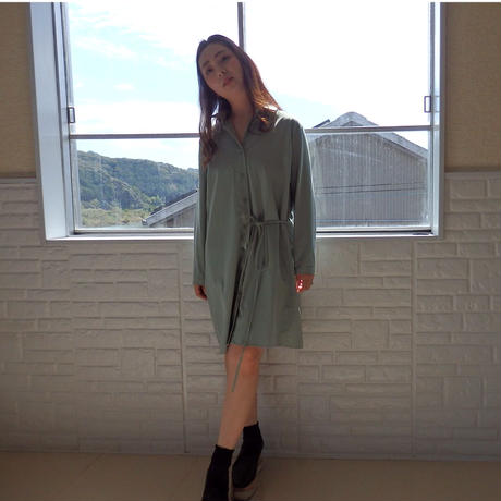 mint  shirt one-piece