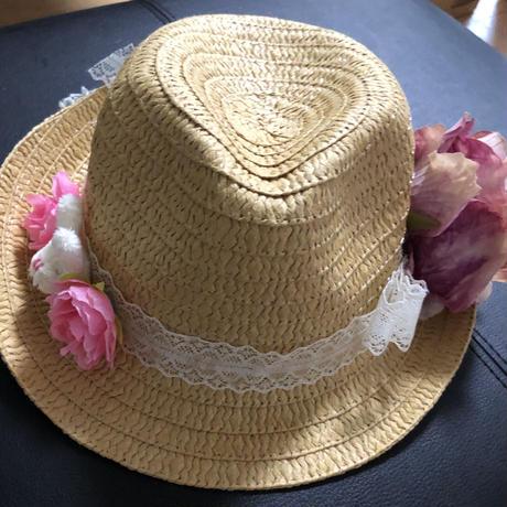 可愛い麦わら帽子